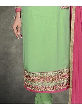 Viva N Diva Georgette Embroidered Semi Stitched Suit Rihanaa-1104