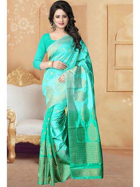 Viva N Diva Banarasi Silk and Jacquard Saree Rinnie-1374