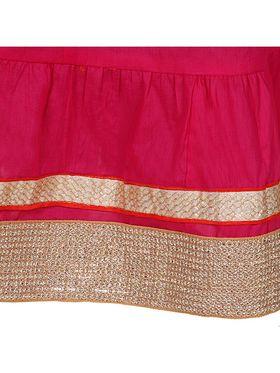 Amore Plain Cotton Embellished Skirt -Skv082P