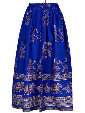 Amore Printed Cotton Skirt -Skv165B