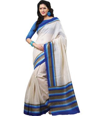 Shonaya Printed Handloom Cotton Silk Saree -Snhls-2008-B