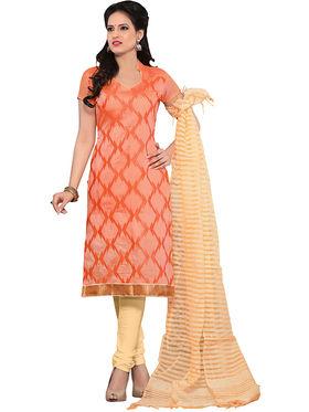 Khushali Fashion Chanderi Embroidered Unstitched Dress Material -SSKV41010