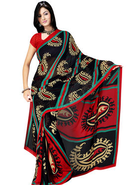 Set of 7 Rekha Georgette Sarees (7G7) - AKSO