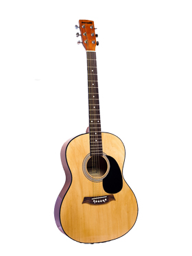Sonido Acoustic Guitar Natural with 2 Plectrum   SM R902 available at Naaptol for Rs.3658