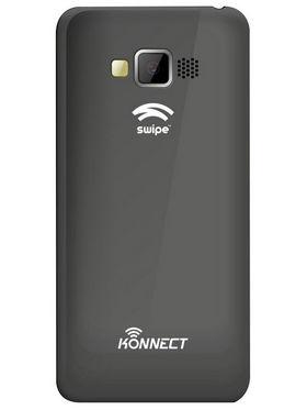Swipe Konnect 4 Neo Dual Core Android Kitkat 3G Smartphone - Black