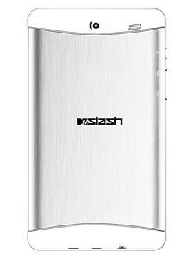 Swipe MTV Slash Dual Core Android KitKat 3G Dual Sim Calling Tablet - Silver
