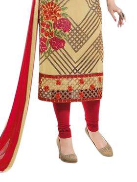 Thankar Semi Stitched  Georgette Embroidery Dress Material Tas270-0766