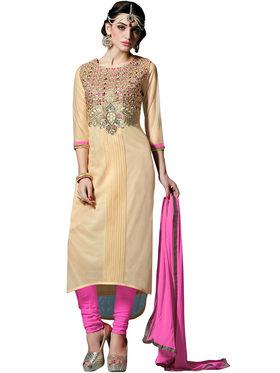 Thankar Semi Stitched  Heavy Laycra Embroidery Dress Material Tas274-23007