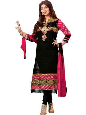 Thankar Semi Stitched  Georgette Embroidery Dress Material Tas277-9203