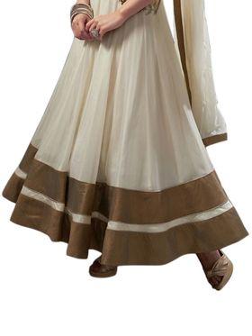 Thankar Semi Stitched  Georgette Embroidery Dress Material Tas287-5072