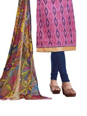Thankar Semi Stitched  Cotton Embroidery Dress Material Tas288-2409
