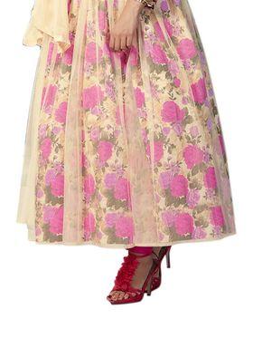 Thankar Semi Stitched  Banglori Silk Embroidery Dress Material Tas289-9708