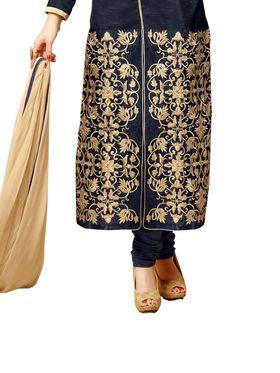 Thankar Semi Stitched  Banglori Silk Embroidery Dress Material Tas294-126-As