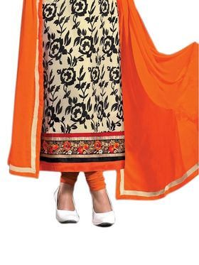 Thankar Semi Stitched  Georgette Embroidery Dress Material Tas314-37