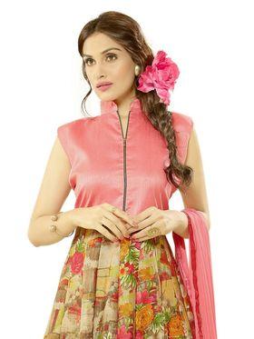 Thankar Embroidered Bhagalpuri Semi-Stitched Suit -Tas333-2051