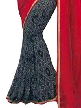 Thankar Embroidered Georgette Saree -Tds132-16654