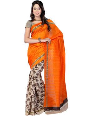 Thankar Embroidered Bhagalpuri Saree -Tds136-204
