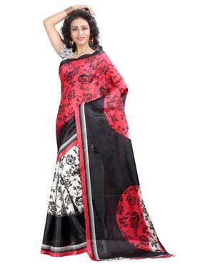 Pack of 2 Thankar Printed Bhagalpuri Saree -Tds137-231.232
