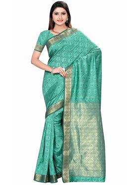 Triveni's Art Silk Zari Worked Saree -TSMRCCSR2056