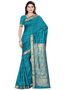 Triveni's Art Silk Zari Worked Saree -TSMRCCSR2060