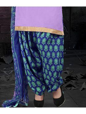 Viva N Diva Cotton Lace Work Embellished Unstitched Suit Tanaz-105