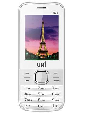 UNI N25 1.8 Inch Dual Sim Mobile - White