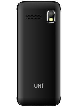 UNI N3300 1.8 Inch Triple Sim Mobile - Black