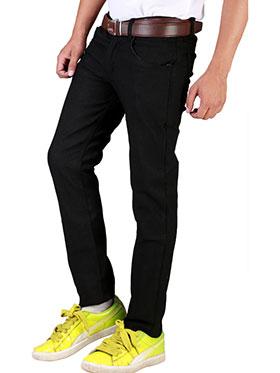 Velgo Club Comfort Fit Jeans _NPKE-JEN-85 -  Black