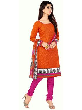 Khushali Fashion Cotton Printed Unstitched Dress Material -VRWC22010