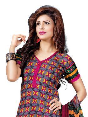 Khushali Fashion Silk Printed Unstitched Dress Material -VSPKV24422