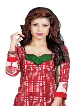 Khushali Fashion Silk Printed Unstitched Dress Material -VSPKV24432