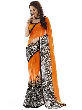 Nanda Silk Mills Fancy Printed Saree_Vr-1181
