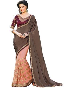 Nanda Silk Mills Designer Fancy Exclusive Saree_Vr-1402