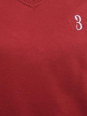 Eprilla Spun Cotton Plain Sleeveless Sweater  -eprl06