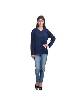 Pack of 3 Eprilla Spun Cotton Plain Full Sleeves Sweaters -eprl52