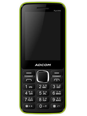 Adcom Fun X16 Dual Sim Mobile - Black&Green