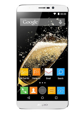 ZOPO SPEED 7PLUS 5.5 Inch 3 GB RAM + 16GB ROM 4G LTE Dual SIM Smartphone - White