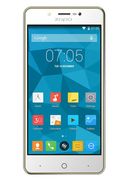 ZOPO ZP353 5 Inch HD,IPS Quad Core Android Lollipop 5.1 Smart Phone - Yellow