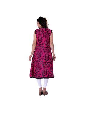 Viva N Diva Cotton Rayon Printed Kurtis -Zeesha-Vnd-2006-A