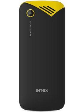 Intex Ultra 3000 Dual Sim Phone - Black & Yellow
