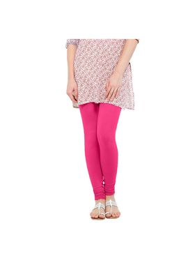 Oh Fish Solid Cotton Stretchable Leggings -zwe88