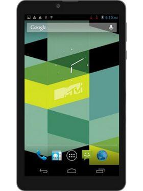 Swipe MTV Slash Dual Core Android KitKat 3G Dual Sim Calling Tablet (RAM:1GB ROM:8GB) - Black
