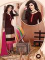Viva N Diva  Embroidered Pure Chanderi Silk  Semi Stitched Suit 10017-Elnaaz