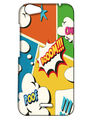 Snooky Digital Print Hard Back Case Cover For Micromax Bolt Q338 - White