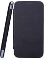 Camphor Flip Cover for Micromax A74 - Black