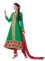 Florence Georgette Anarkali Semi-Stitched Suit-SB-1440