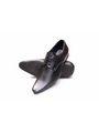 Kohinoor Footwears Artificial Leather Formal Shoes - Black-3184