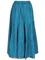 Amore Printed Cotton Skirt -Skv045Lb