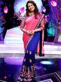 Siyona Graceful Pink & Blue Saree from Aaha Enna Porutham (1616)