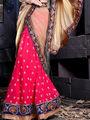 Viva N Diva Georgette Embroidered Lehenga - Pink